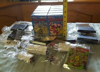 Wacky Races Konami Lot of Figures +more  Hanna Barbera MINT Japan RARE? VINTAGE?