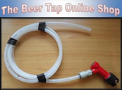 "3/8"" Beer Line / Pipe With Liquid Pin Lock Disconnect for Cornelius/Corny Kegs"