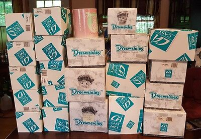 HUGE Lot Of 22 DREAMSICLES  *All Sizes* All Original Boxes !