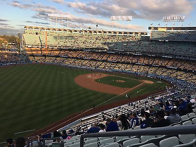 Dodgers vs Cubs 5/28/17 2 Reserve Tickets