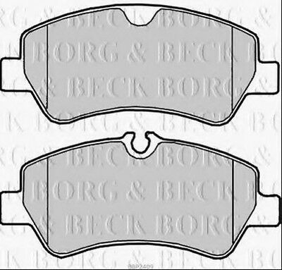 BBK1523 BORG /& BECK BRAKE PAD FITITNG KIT fits Mercedes E Class S212 11//09