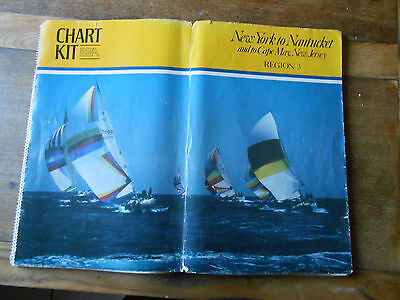 Chart Kit BBA  New York to  Nantucket  Cape May New Jersey  Marine Charts