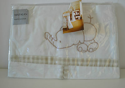 Brand New Unopened Baby Nappy Diaper Bag Stacker for Nursery Crib Cot Cot Bed