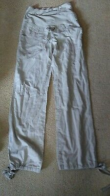 Ladies H&m Mamma Pregnancy Maternity Trousers Casual Style Size 10