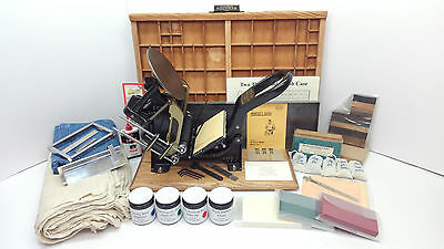 Kelsey 3x5 Model C Letterpress (reconditioned) + Starter Kit (new & recon.)