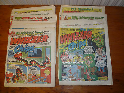 15 Whizzer and Chips Comics  1986   Jan - April