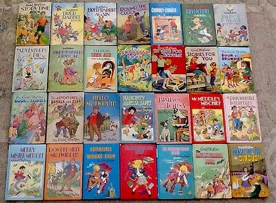 JOB LOT of 28 VINTAGE ENID BLYTON HARD BACK REWARDS SERIES BOOKS DEAN 60s TO 80s