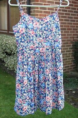 NEXT Girls Floral Dress  Age 14 years