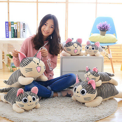 HOT  Home Decor Plush Cat Pillows Cotton Cushion Covers Cartoon Toy Girls Gifts