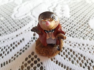 Wee Forest Folk WW-1 MOLE 1982 ONE YEAR ISSUE from WIND IN THE WILLOWS  RARE