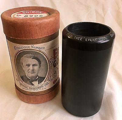 Rare Vintage Antique Edison Cylinder Phonograph Gramophone Record 2M 1905/6