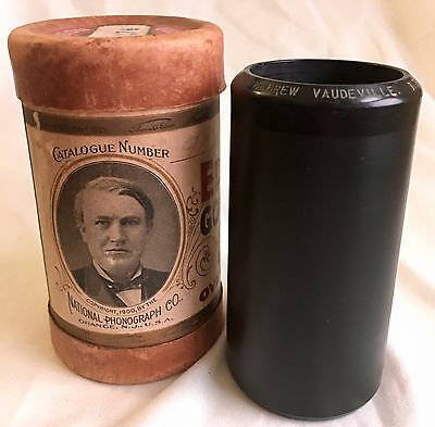 Rare Vintage Antique Edison Cylinder Phonograph Gramophone Record 2M Judaica