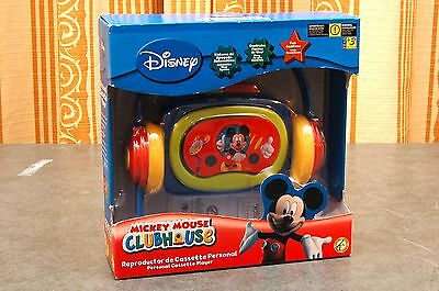 Disney Mickey Mouse Clubhouse Cassette Player - Brand New in Box