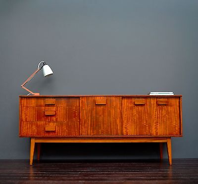 Vintage Retro Mid Century Teak Sideboard with Drawers