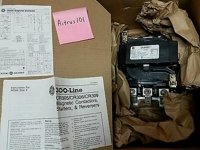 General Electric CR305E0 Magnetic Contactor Size 3 New In Box