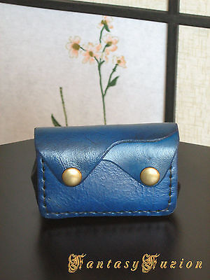 Smart Veg-Tanned Leather Coins Wallet