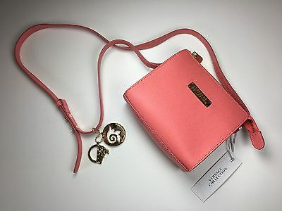 19cd89152adc NWT VERSACE COLLECTION Small Saffiano Leather Medusa Lock Crossbody ...
