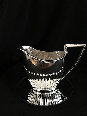 Pretty Walker & Hall Vintage Silver Plated Creamer Milk Jug