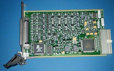 NI PXI-6704 16bit Analog Out, 16ch ±10V, 16ch 0-20mA National Instruments Tested