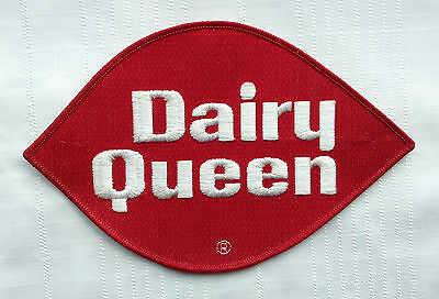 """Vintage Dairy Queen 8"""" Red Patch"""