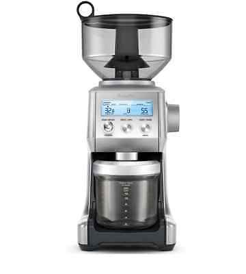 Coffee Grinder Bean Mill Breville Grinding Electric Burr Machine Stainless Steel