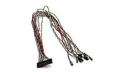16-pin to 20-pin Supermicro CBL-0048 Front Panel Switch Cable