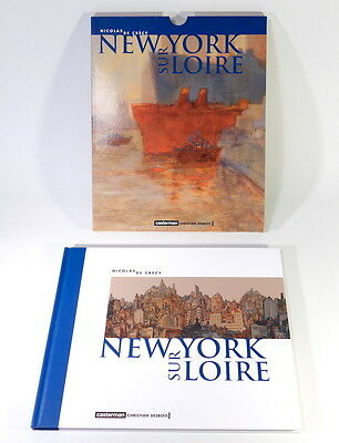 Nicolas de Crécy - New York Sur Loire - FRENCH EDITION - Hardback with Slipcase