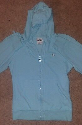 Lacoste Kids Long Sleeve Cotton Hoodie Pullover size 10-12