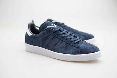 7443414e375301 Adidas Men WM CAMPUS 80s navy collegiate navy mystery blue footwear white  BA7517