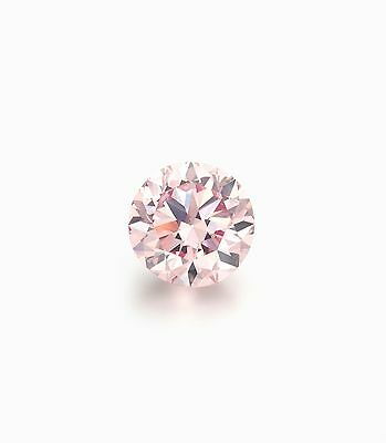 Authentic Australian Argyle Pink Diamond 0.05ct
