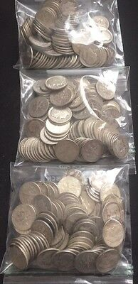 300 Silver Roosevelt Dimes (90% Silver) - 1 lot of 300 coins - 1964 and earlier