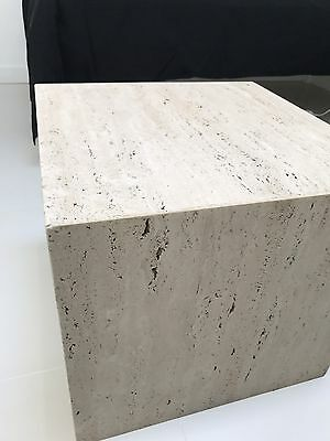 Travertine Marble Coffee Table Side Table Aud Picclick Au