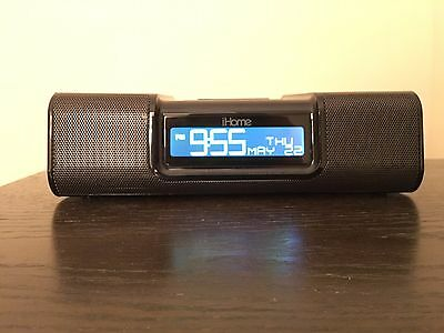 iHome iA9 iPod/iPhone Alarm Clock Speaker Dock Black