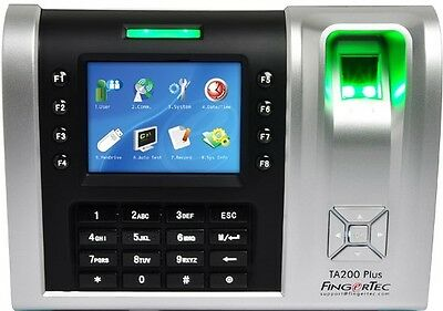 FingerTec TA200plus - Fingerprint + RFID + PIN Time Clock + Aussie Support