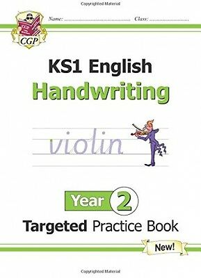 New KS1 English Targeted Practice Book Handwriting Year 2 Pupils (ages 6 - 7)!