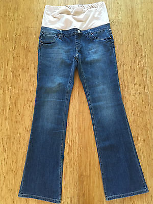 JEANSWEST  Maternity Slim Bootcut Jeans   Sz 12    As New!