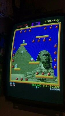 Bomb Jack Arcade Board! 100% Working!nice And Rare!