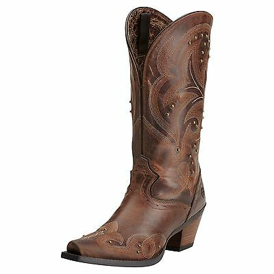 ARIAT - Women's Spellbound Boots - Sassy Brown - ( 10014134 ) - 7B - Sample