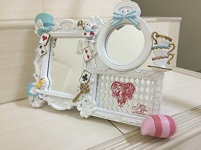Disney store Alice in Wonderland Character mirror. Very pretty, RARE Collection.
