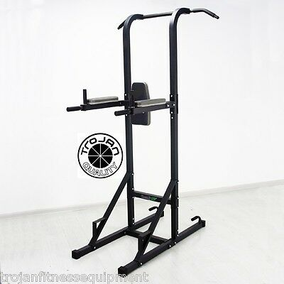 Chin Up Power Tower VKR Chin Up Dip Station Pull Up Core Trainer