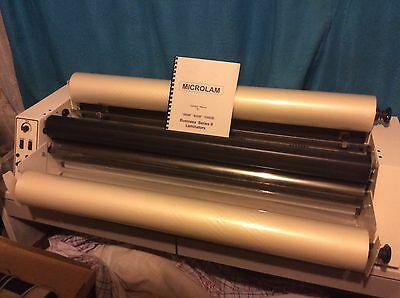 Hot Laminating Machine - Microlam 1000B Business Series II - Australian Made