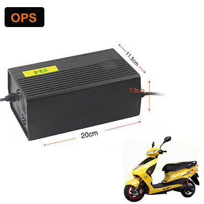 60V40AH Charger For Scooter Wheel Electric Bicycle Lead acid battery