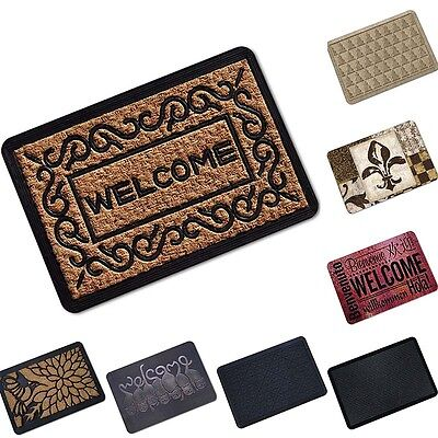 Vintage Floor Door Mat Carpet Non Slip Front Door Kitchen Mat Indoor Outdoor Rug