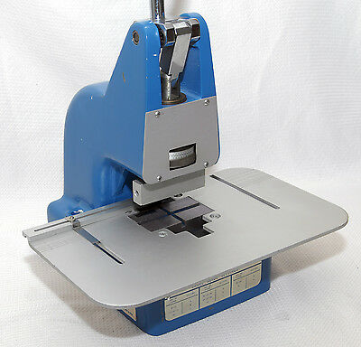 Augat / T&B Ansley Blue Macs Bench Press For IDC Connectors / Flat Ribbon Cable