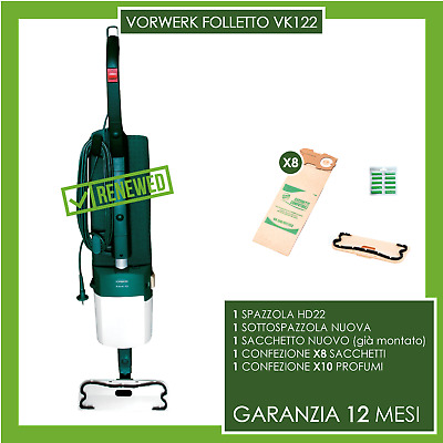 ASPIRAPOLVERE VORWERK FOLLETTO 122 HD22 (NO vk 150 VK 140 VK 136 135 131 SP sp