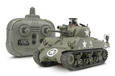 Tamiya 48212 1/35 RC Tank US Medium Tank M4A3 Sherman Kit with 2.4GHz