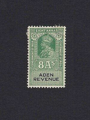Aden KGV 8a REVENUE stamp