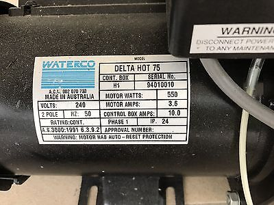 Waterco Indoor Spa Heat Pump -  Delta Hot 75 Model