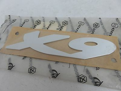 OEM Piaggio X9 Sticker Decal Emblem Badge Name Plate PN 577061
