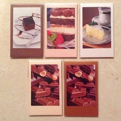 MAGNETIC BOOKMARKS - Handmade - Tea, Cake & Chocolate.